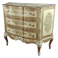 Beautiful Italian Florentine Gilt Chest of Drawers Commode