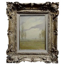 John Earhart - Tranquil Landscape - Beautiful Oil painting 1908