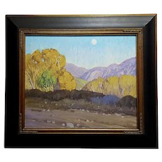 Tim Solliday -Beautiful Fall California Landscape - Oil painting