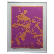 Bob Stanley - The Beatles  -Original 1960s Lithograph