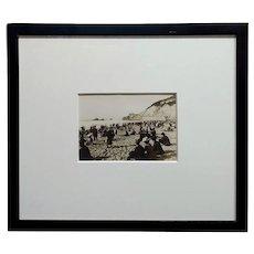 San Francisco Cliff House -Original 5x7 Albumen Photograph-c1900s
