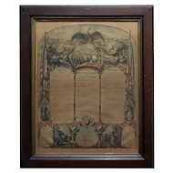 Civil War 1864 Military Register Pennsylvania Company E Manifesto