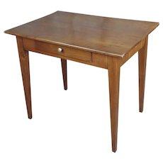 Traditional Vintage Walnut Side Table