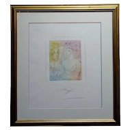 Peter Max - Homage to Pablo Picasso -original color Etching