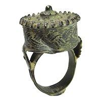 Pre Georgian Ring Ancient Ring Byzantine Ring Jewelry Byzantine Ring Medieval Jewelry Bronze Ring Tudor Jewelry Renaissance Jewelry Unique