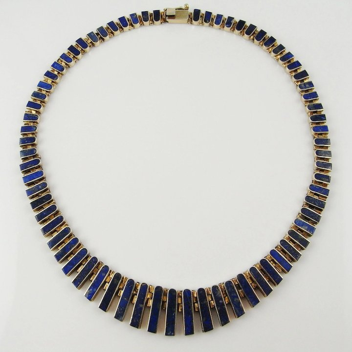 necklace com lapis bezel blue lazuli buy round online at pendant