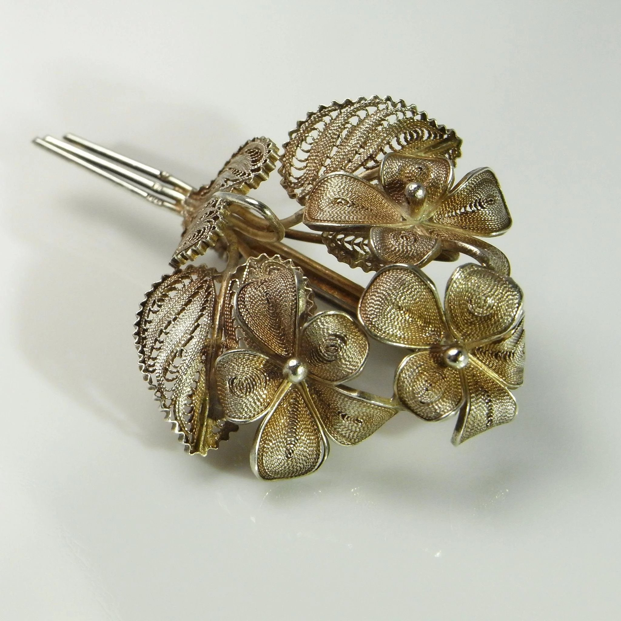 shows firm c circa brooch diamond flower the of gold exquisite superb is and quality co reserved violet pin this krementz by antique enamel nj newark superior