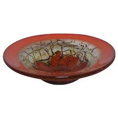 Art Deco WMF Ikora Glass Bowl Design Karl Wiedmann Germany