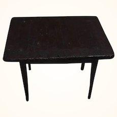 Antique German Dollhouse Coffee Table Attic Found