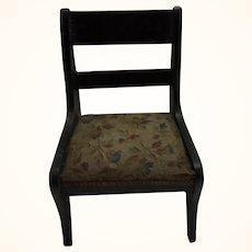 Antique German Dollhouse Chair Attic Found