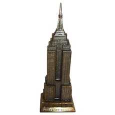 Vintage USA Souvenir Building Empire State Building in Box