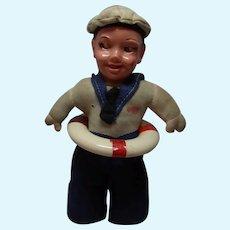 Vintage German Doll Sailor Boy