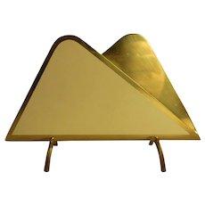 Mid Century 50´s Brass Napkin Holder
