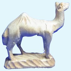 Early Vintage Italy Hand Carved ANRI Camel Very Small