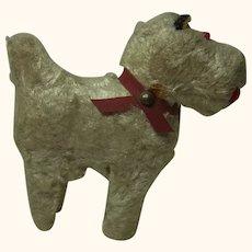 Vintage German White Scottish Terrier Dog for Fashion Doll