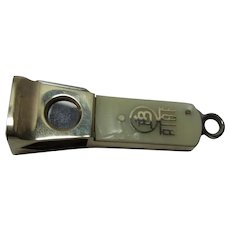 Vintage German Chrome Pocket Cigar Cutter