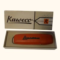 Vintage Kaweco 585 Feather Fountain Pen and Ball Pen in Box