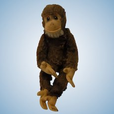 Vintage German Steiff Monkey no ID