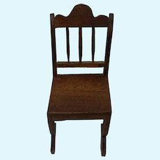 German Dollhouse Wood Chair