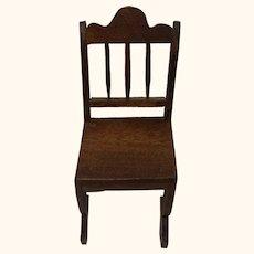 German Dollhouse Wood Chair