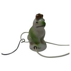 Drip Catcher Frog King Vintage German