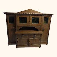 German Art Deco Dollhouse Living Room Buffet