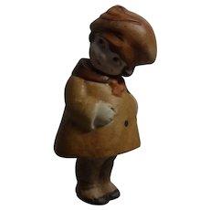 Old Vintage German Bisque Doll