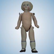 Antique German All Bisque Doll
