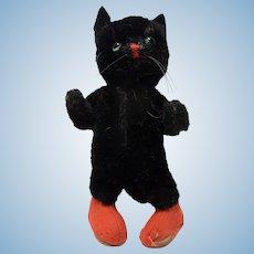Vintage German Black Kersa Cat