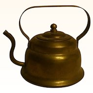 Vintage German Dollhouse Copper Hot Water Kettle
