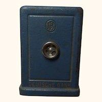 Deutsche Bank Money Bank Safe Vintage German