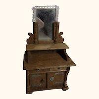 Antique German Dollhouse Sideboard Historismus ca. 1890