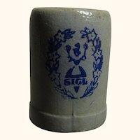 Vintage German Doll Size Beer Stein