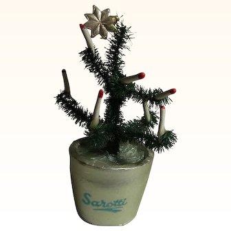 Vintage German Sarotti Christmas Tree