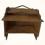 Vintage German Wood Dollhouse Dresser