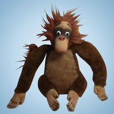 German Steiff Monkey Jungle Book King Louie 0383/22