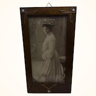 German Art Nouveau Picture Photo Frame