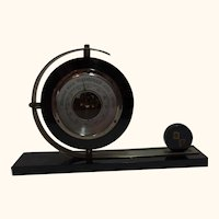 German Art Deco Desk Barometer