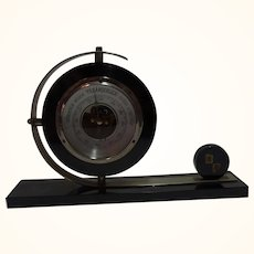 German Art Deco Desk Barometer