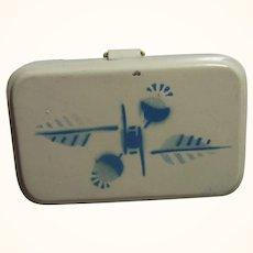 Art Deco German Tin Bread Box Dollhouse