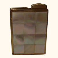 Amor Mother of Pearl German Travel Pocket Perfume Atomizer Sprayer