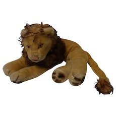 Vintage German Steiff Lion