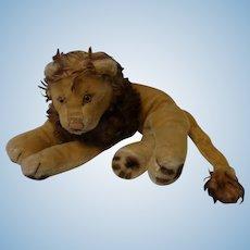 Vintage German Steiff Lion