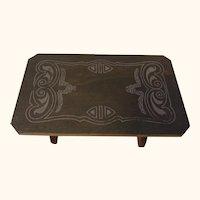 Vintage Wood Dollhouse Table