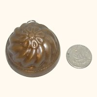 Old German Kitchen Copper Mold