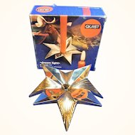 Mid Century 60´s German Quist Star Candle Holder MIB