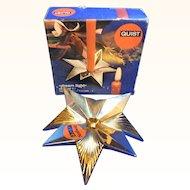 Mid Century 60´s German Quist Star Candle Holder MIB