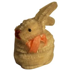Vintage German Easter Bunny Rabbit Candy Container