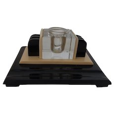 Beautiful German Art Deco Inkwell