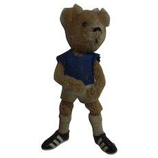 Vintage German Small Schuco Soccer Bear